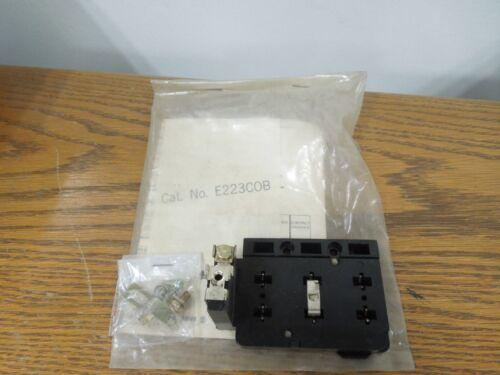 Ite E223cob Replacement Kit - Overload Relay Base Nema Size 00-1 Starter Surplus