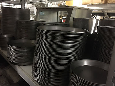 "10 X 7"", 8"",9"", 10"", 12"", 14"", 15"", 16"" IRON PIZZA PANS 1.5"" FOR DEEP PAN PIZZA"