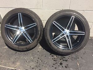DAI Alloy Rims and Tires