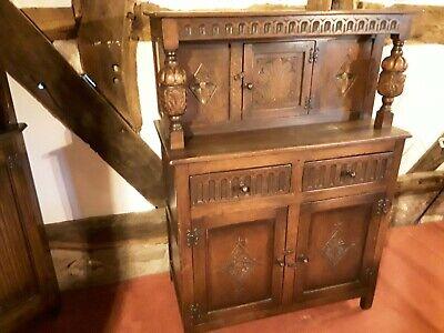 Vintage sideboard cupboard dark to medium oak?
