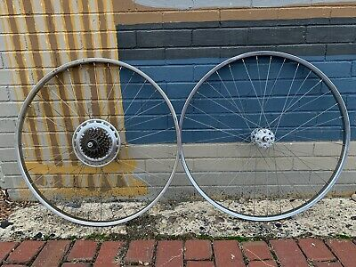 SCHWINN BICYCLE REFLECTOR SET VARSITY ROAD BIKE WHEELS OTHERS NOS