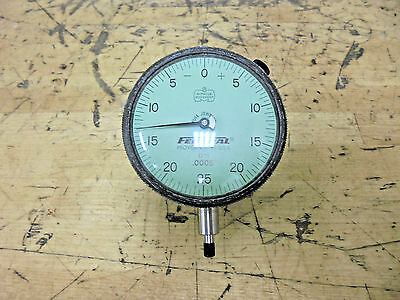 Mahr Federal D71 Dial Drop Indicator .125 Range X .0005 Grad. 0-25-0 Reading