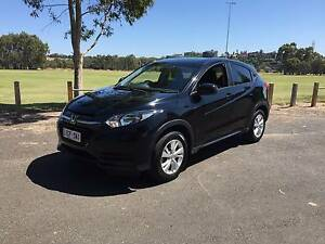 2015 Honda HR-V Black - Low Kms with Balance of New Car Warranty Ascot Vale Moonee Valley Preview