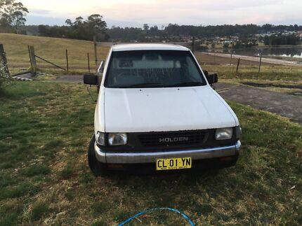 Holden rodeo ute - long rego