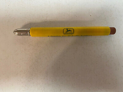 Vintage John Deere Advertising Bullet Pencil John Deere Chemical Co Tulsa OK.