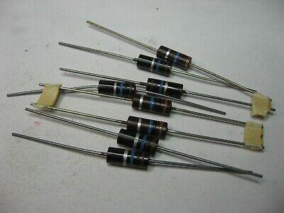 Resistor 1w 10m 10000000 Ohm 10 Carbon Composition - Nos Qty 8