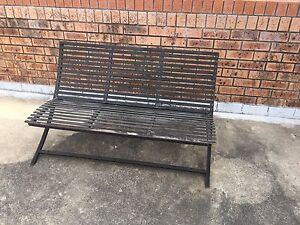Steel bench Point Clare Gosford Area Preview