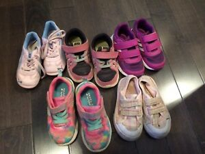 Girls sneakers Size 7-8