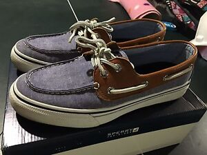 Sperry Top-sider, like new! $30