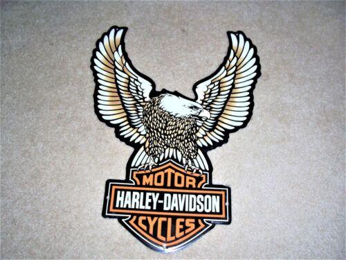 Harley Davidson Eagle Metal Tin Tacker Sign New