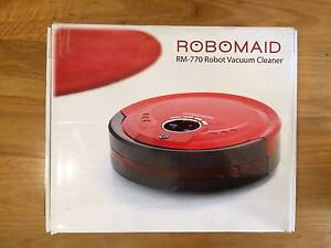 Robomaid RM-770   Robot Vacuum Cleaner (Red) Palmyra Melville Area Preview