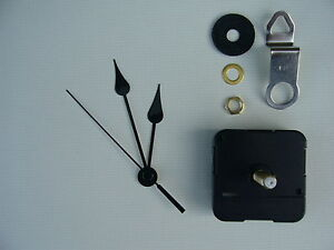 Clock Mechanism Quartz Extra Long Sweep Spindle 80mm