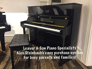 New Alex.Steinbach Pianos - Easy Purchase System - for busy parents!