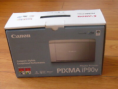 (NEW Canon PIXMA iP90v Compact Photo Inkjet Printer 2238B002 )