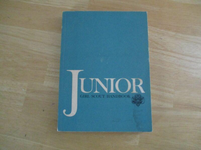 GSA Junior Girl Scout Handbook Manual 1972 Paperbacki