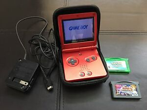 Nintendo Gameboy Advance SP (with case) + 2 Games