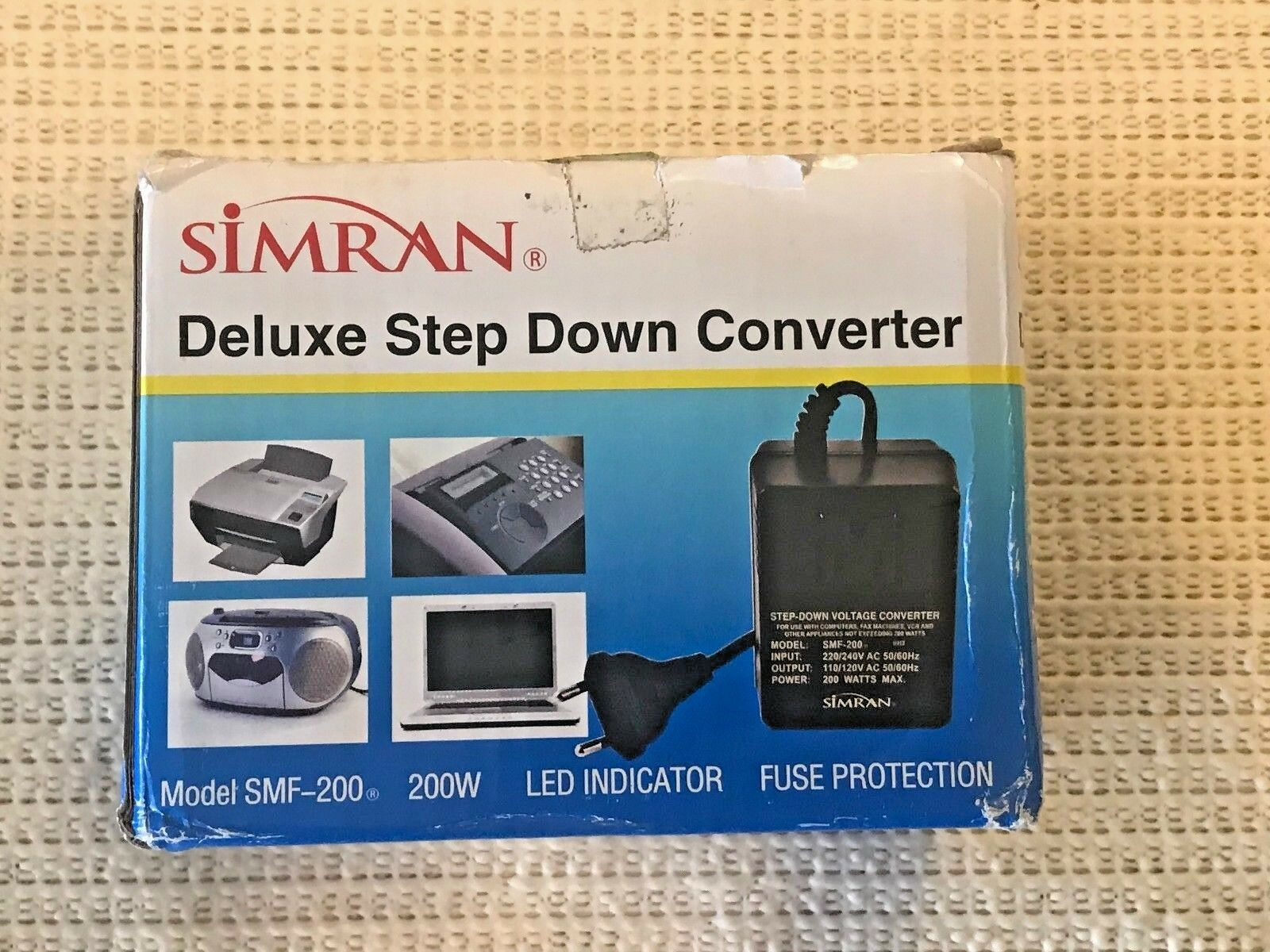 Simran SMF-200 Deluxe 200 Watts Step Down Voltage Converter