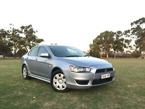 2010 MITSUBISHI LANCER MANUAL  LOW KMS  ONE YEAR FREE WARRANTY