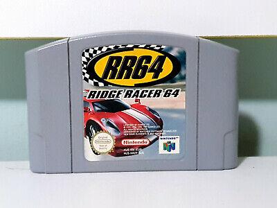 Ridge Racer 64 Nintendo 64 Cartridge RR64 N64 PAL Cart!