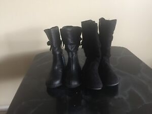 Size 4T boots..