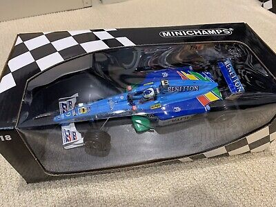 Minichamps F1 Benetton 1999 Playlife B 199 1:18 G Fisichella