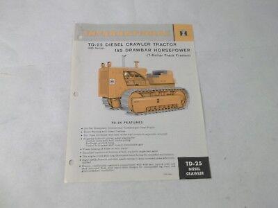 International Harvester Td-25 Diesel Crawler