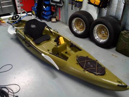 Fishing YAK Mansfield Brisbane South East Preview