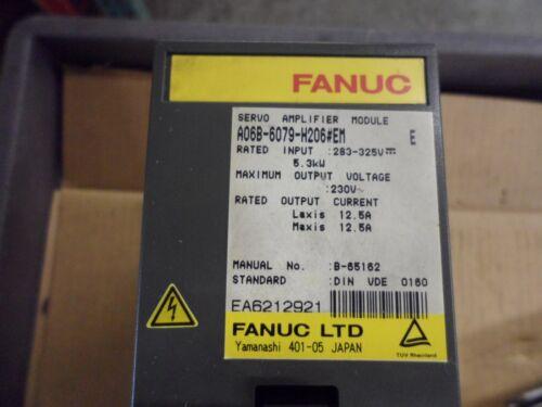 Fanuc Servo Amplifier A06b-6079-h206#em