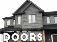 Aluminum window door capping