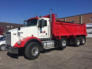 tri axle dump trucks heavy trucks in ontario kijiji. Black Bedroom Furniture Sets. Home Design Ideas