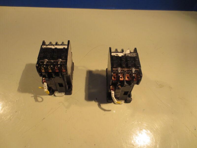 MATSUSHITA AC MAGNETIC CONTACTOR FC-10NZ 4A0B 100V