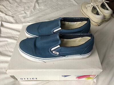 Vans Classic Slip On Blue UK 9