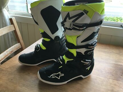 Alpinestars tech 7 mx boots size us 12