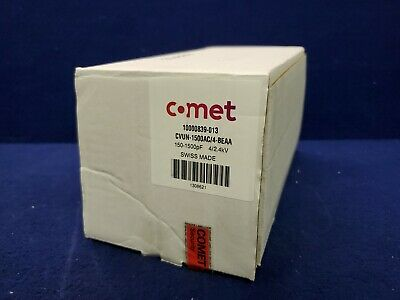 Comet Vacuum Variable Capacitor Cvun-1500bc7-beaa 150-1500pf 42.4kv