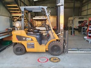 Used 2.5T Cat LPG Forklift Welshpool Canning Area Preview