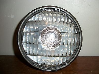 Vintage Guide Sealed Tractor Lamp 6 Volt Clear Glass Lens Light Antique