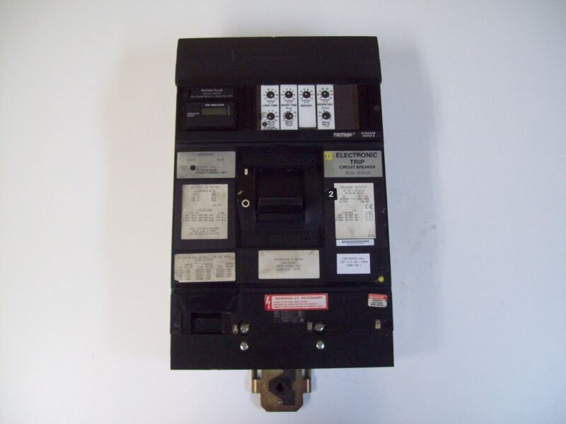SQUARE D MX36800G ELECTRONIC TRIP CIRCUIT BREAKER 800A SENSOR - FREE SHIPPING