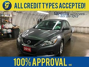 2016 Nissan Altima S*PHONE CONNECT*BACK UP CAMERA*AUTO START*PUS