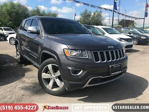 2016 Jeep Grand Cherokee Limited | NAV | LEATHER | ROOF | 4X4