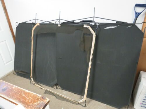 """Matthews 48x48"""" Solid Frame Scrims (qty 3)  fabric is ripped, sold as is"""
