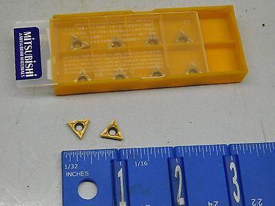 Mitsubishi Tcmt-21.51 Carbide Inserts 10 Pcs New Grade Ue6020
