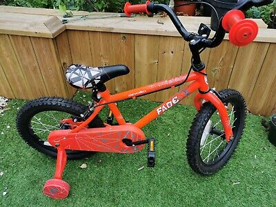 Kids  Boys Girls Apollo FADE RED bicycle 6-8years Rrp £90 pickup E15
