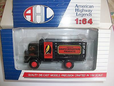 AHL 1/64 GMC T-70 Hartz Mountain Products Bird Food Delivery Truck