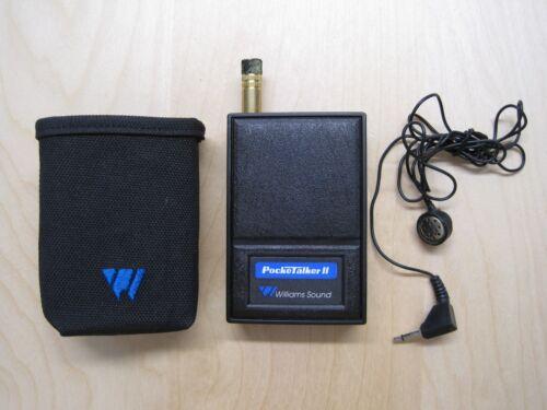 Williams Sound PockeTalker II Personal Amplifier Hearing Device