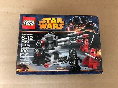 LEGO Star Wars - 75034 - Death Star Troopers 2014 NEW - SEALED - FREE SHIPPING