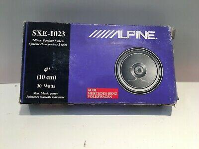 ALPINE SXE-1023 2-Way Speaker System