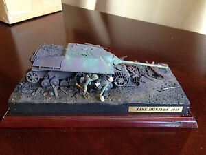 Pro Built 1/35 scale German Jagdpanzer IV Tank Destoroyer Diorama