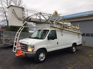 Ford e350 2008 Nacelle telelift