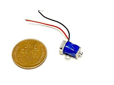 1 Piece Linear Tiny Miniature Solenoid Suction Pull Micro Electromagnet Push C21