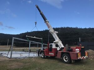 Franna crane hire Huon Valley, Hobart and surrounds Pelverata Huon Valley Preview